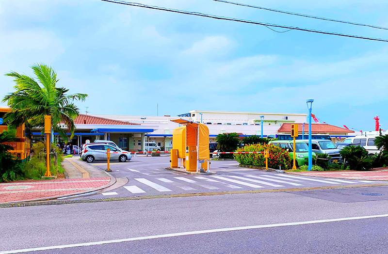離島ターミナル第1駐車場