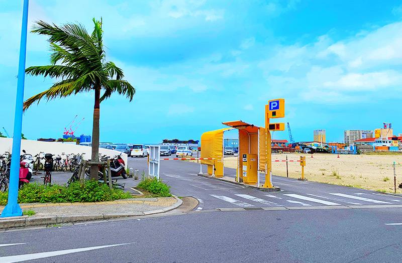 離島ターミナル第2駐車場