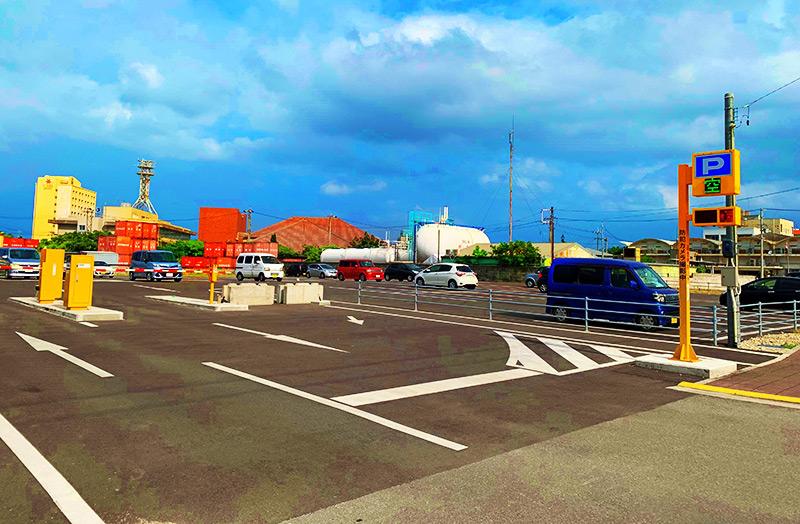 離島ターミナル第2臨時駐車場